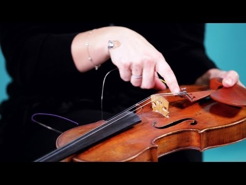 How to Replace Strings | Violin Lessons