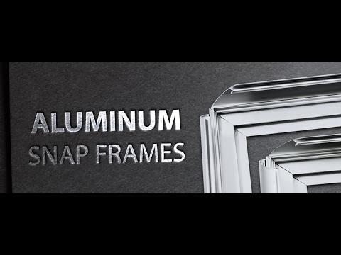 Custom Aluminum Snap Frames - Instructions