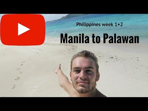 Philippines week 1+2: Manila to Palawan