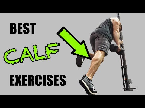 Top 5 Calf Exercises with Dumbbells!