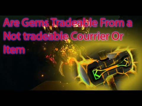Non tradeable item Gem Removal
