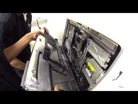 How To   iMac Disassembly Guide   Hard Disk Replacement & Screen Removal