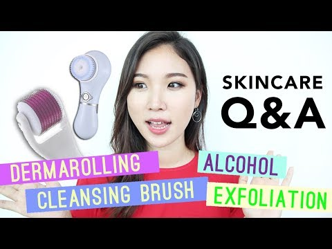Dermarolling • Cleansing Brushes • Skincare Ingredients To Avoid // Skincare Q&A