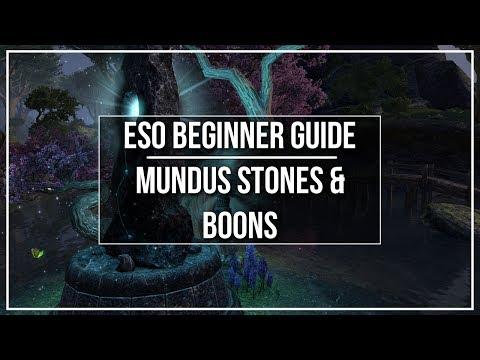 ESO Beginner Guide - Mundus Stones