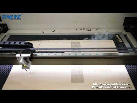 How to Make A Thin Wooden Plate Book Cover with LG6040N CO2 Laser Cutting Machine