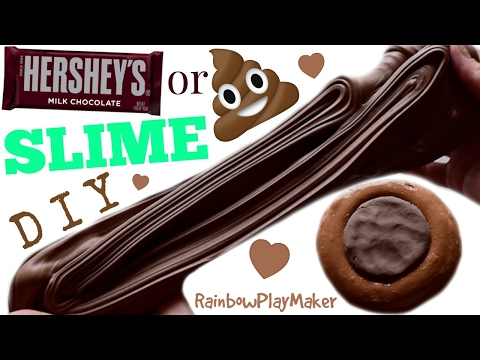 DIY POOP OR CHOCOLATE SLIME!!! YOU DECIDE ! EASY CLAY MIXING BUTTER TEXTURE SLIME