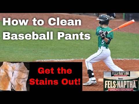 How to Clean Baseball Pants