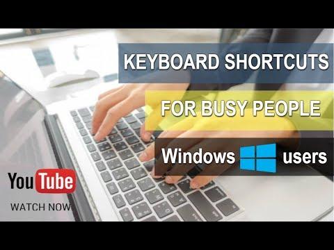 Keyboard Shortcuts [2015] - how to close Windows, folders, application, etc...