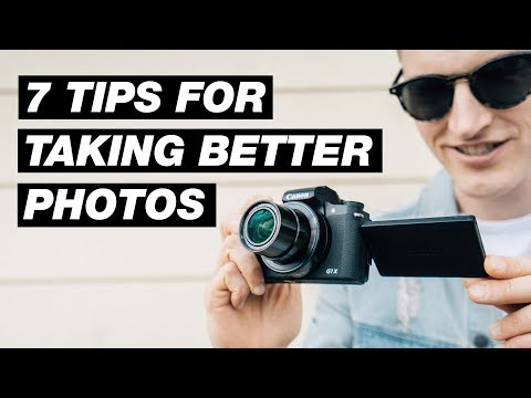 7 Easy Photography Tips for Taking Better Photos