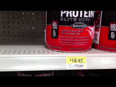 Protein From Walmart Much Cheaper