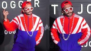 Ranveer Singh's Hip Hop Style At The Launch Of Night Joggers