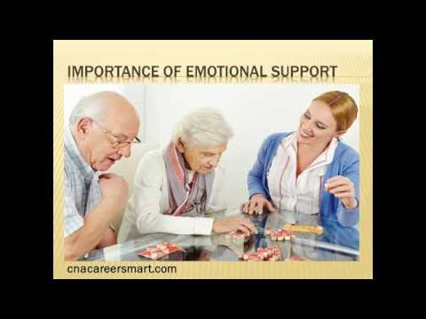 What is the Importance of Emotional Support to a Patient?