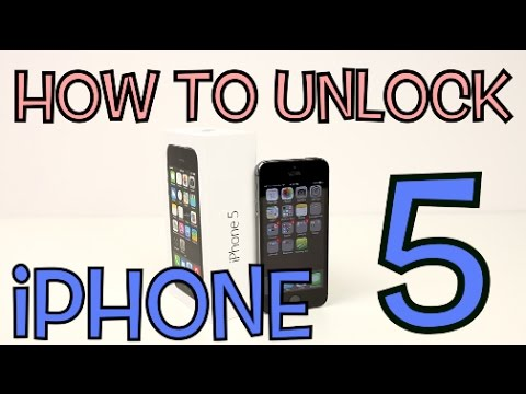 How to Unlock Apple iPhone 5 for EVERY Carrier (AT&T, Sprint, Verizon, Bell, T-Mobile, O2, ETC)