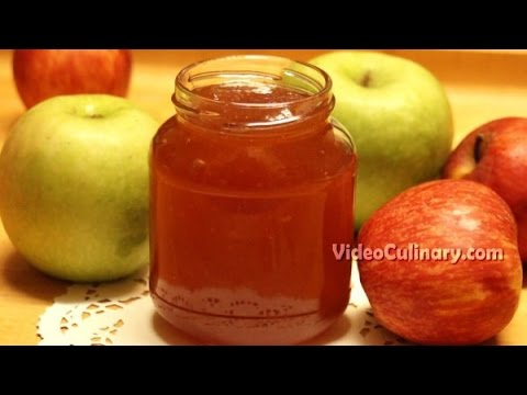Homemade Apple Jam Recipe - Video Culinary