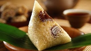 Eating A Zongzi (Chinese Tamale) in 7 Seconds!