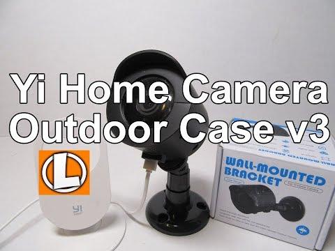Yi Home Camera Outdoor Case V3 - Weatherproof Indoor - Outdoor Mount