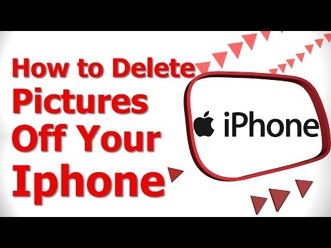 How to Delete Pictures Off your iphone