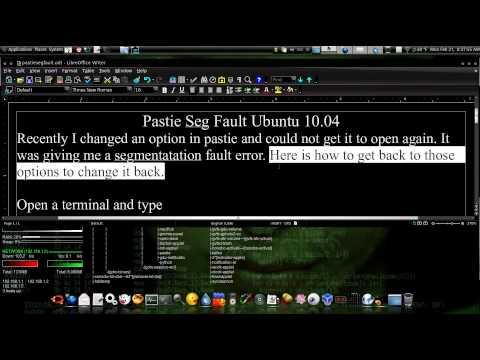 Pastie Seg Fault Ubuntu 10.04