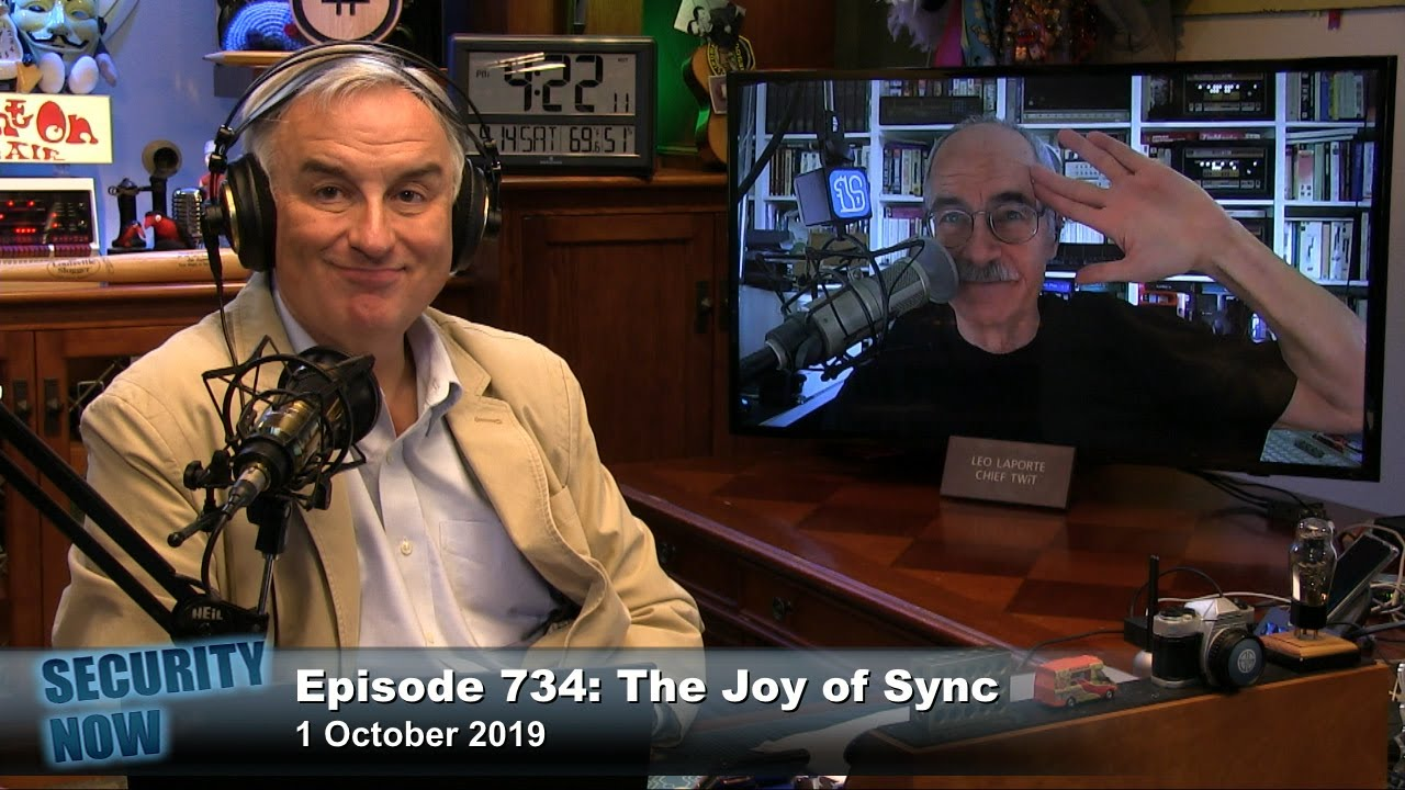 The Joy of Sync - Security Now 734