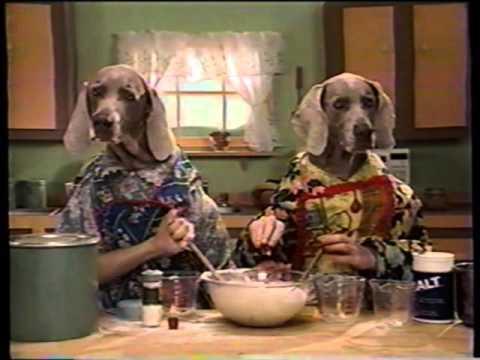 Sesame Street - Wegman's Dogs: Baking a Cake