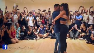 DANIEL Y DESIREE LOS ANGELES - Don't Let Me Down ft. Daya (Version Bachata Dj Khalid)