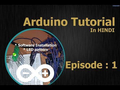 1--Arduino Tutorial Hindi / Urdu (English Subtitles) -- LED Pattern