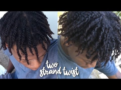 NATURAL HAIR TWO-STRAND TWIST & TWIST-OUT   TUTORIAL ( EASY )