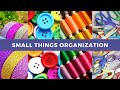 7 amazing ways to organize small things | Unique and different ideas to organize small things