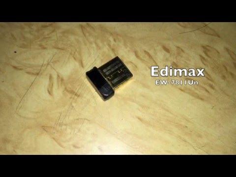 How to use Edimax EW‑7811UNWiFi dongle on Mac OSX 10.11 El Capitan.