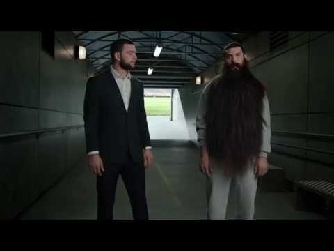 Out of Control Beard Andrew Luck Commercial   DIRECTV NFL SUNDAY TICKET