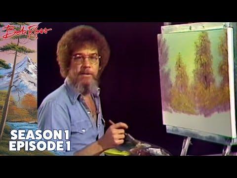 Bob Ross - A Walk in the Woods (Season 1 Episode 1)