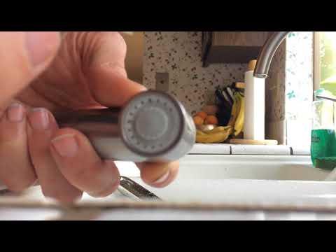Kitchen Spray Hose Clogged--Easy FIX