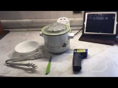 How to make Hard Boiled Eggs with a 60 watt Crock pot.