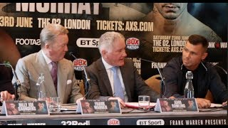 'YOU'RE DOING MY HEAD IN!!' - MARTIN MURRAY TAKES SWIPE AT FRANK WARREN OVER GGG-CANELO TALK