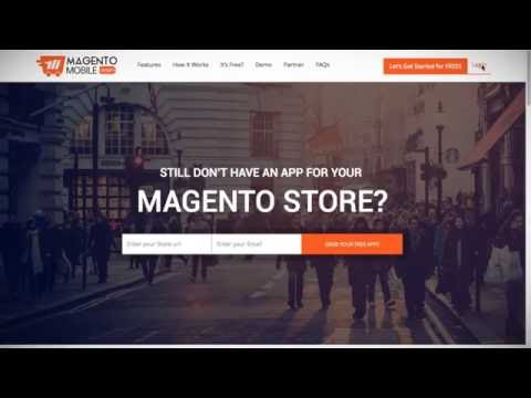 How to create Magento Mobile App and Activate the Extension in the Magento Admin Panel ?