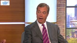 Nigel Farage on returning to politics, Trump, Theresa May and Article 50