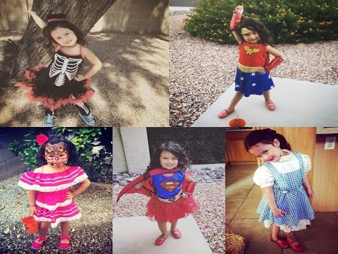 2016 HALLOWEEN COSTUME LOOKBOOK for GIRLS | DOROTHY | SUPER GIRL | WONDER WOMAN & MORE!!!!!