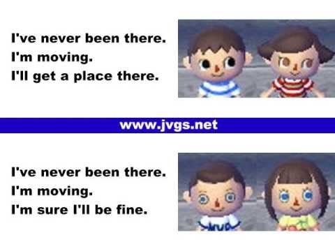 Animal Crossing New Leaf Face Guide (English Language)