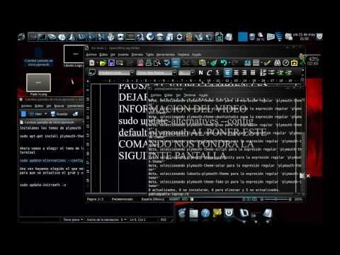 Modificar Pantalla Plymouth de Inicio en Ubuntu 10.04
