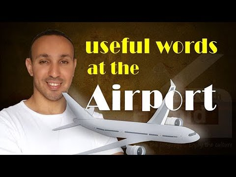 Arabic at the Airport (Part 1) | Learn Arabic with Hamid