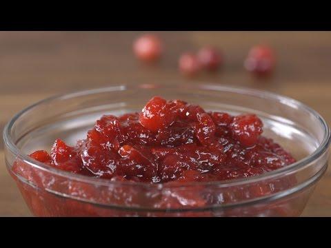 Recipe: Easy Cranberry Sauce