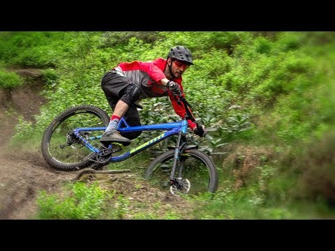 Going fast on a Hardtail!