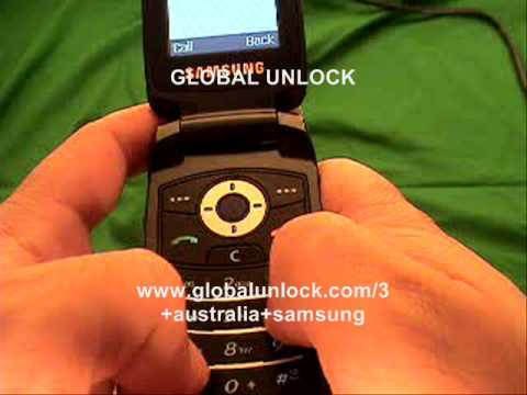 How to Unlock any 3 Australia Samsung Phone