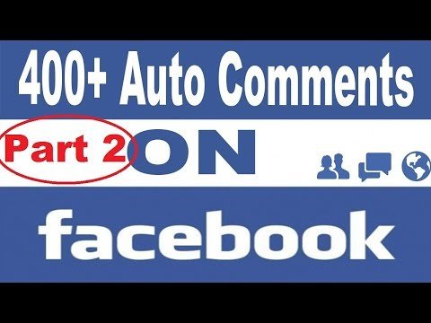 Facebook Auto commenter With Android app 100% working with proof