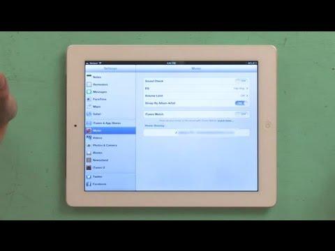 How to Watch Shared Network Movies on an iPad : iPad Help