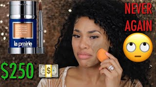 OMG! $250 FOUNDATION?!!! | TESTING OUT THE MOST EXPENSIVE FOUNDATION IN THE WORLD!