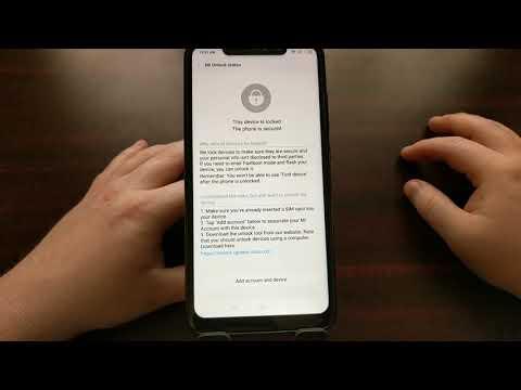 Redmi Note 6 Pro | Unlock the Bootloader