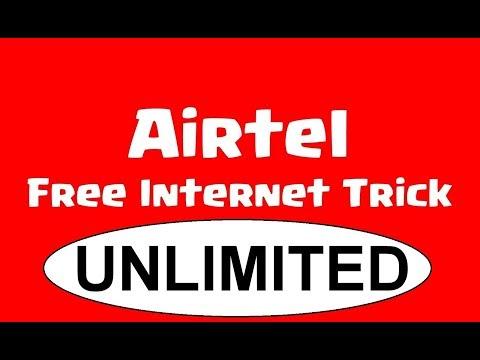 Airtel 3G/4G UNLIMITED VPN  free internet.