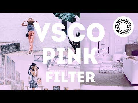 Cara Edit Pink Filter di VSCO Android dan iOS   Tutorial