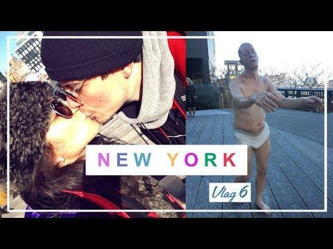 NEW YORK VLOG 6 - Chelsea Market,  Highline e Majestic | #TKEmNY